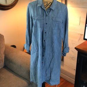 Old Navy jean dress. L